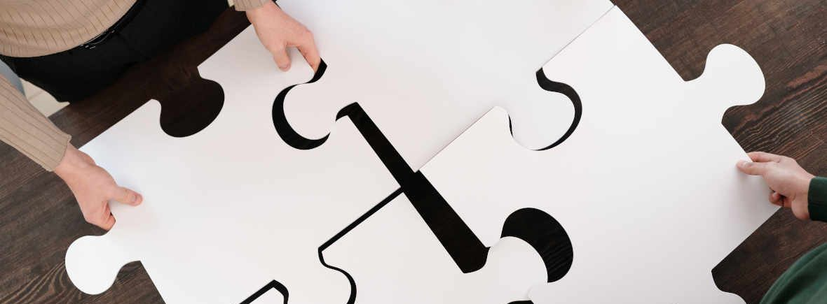 Fitting a jigsaw together